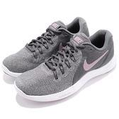 Nike 慢跑鞋 Wmns Lunar Apparent 灰 粉紅 避震透氣 女鞋 運動鞋【PUMP306】 908998-005
