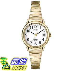 [106美國直購] 手錶 Timex T2H351 Womens Easy Reader Date Expansion Band Watch