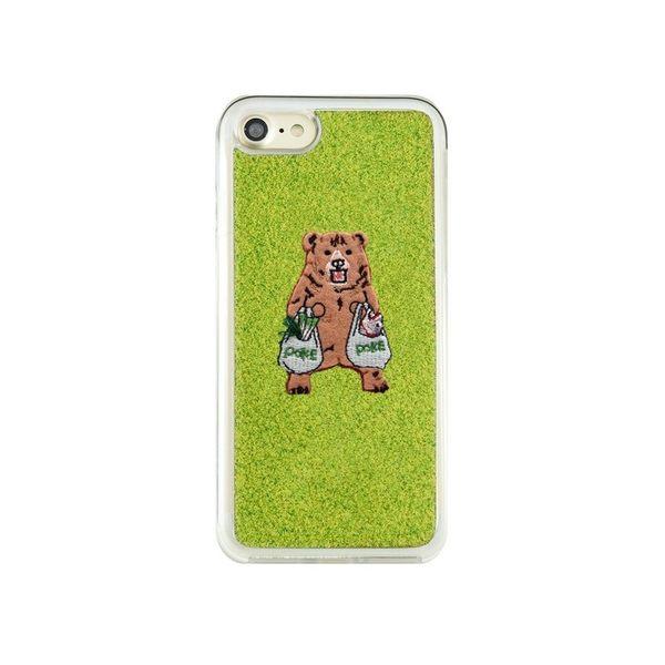 iPhone 8/7 手機殼 獨家代理 草地/草皮/公園/磨坊盡頭 Pokefasu系列 4.7吋 Shibaful 熊/貓/柴犬