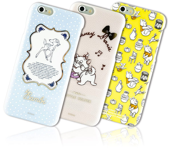 MQueen膜法女王 APPLE iphone6 i6s i6 日本 Disney 迪士尼 手機殼 米奇米妮 唐老鴨 瑪麗貓 維尼 小鹿斑比