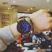手錶男女學生韓版簡約大錶盤潮流中性 ulzzang個性大氣休閒bf風錶 全館免運