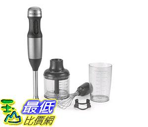 [美國直購] 攪拌器 KitchenAid KHB2352CU 3-Speed Hand Blender - Contour Silver