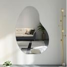促銷 北歐網紅穿衣鏡壁掛鏡子貼牆試衣鏡家用臥室掛牆全身鏡簡約落地鏡