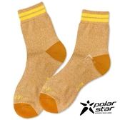 PolarStar 長效抗菌排汗登山襪『橘』P18512  戶外.登山.排汗襪.彈性襪.休閒襪.長襪.男版.女版.中性