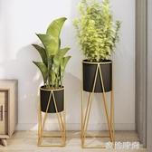 簡約鐵藝花架置物架花架子室內客廳陽台落地式綠蘿吊蘭植物花盆架『蜜桃時尚』