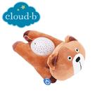 美國cloud b 聲光音樂夜燈/安撫睡眠玩具/夜燈-棕熊熊 CLB7472-BRB