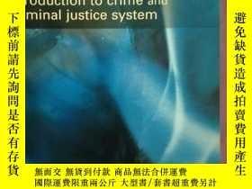 二手書博民逛書店Criminal罕見Justice: An introduction to crime and the Crimi