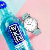 TIMEX 天美時 / TXTW2R70300 / 美國品牌 極簡風格 INDIGLO專利冷光照明 真皮手錶 白x藍 39mm