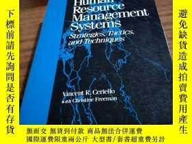 二手書博民逛書店Human罕見Resource Management Syste
