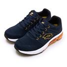 LIKA夢 LOTTO 專業飛織避震氣墊慢跑鞋 SUPER LITE系列 藍橘 1616 女