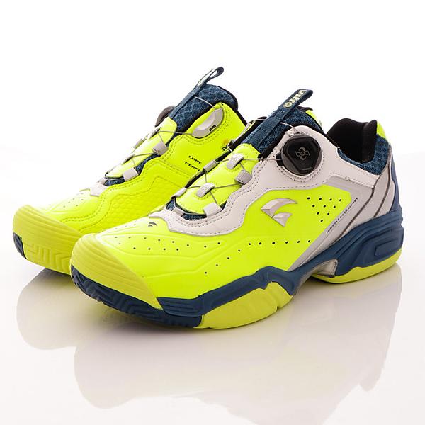 【VITRO】韓國專業運動鞋-DURNSFORD系列頂級專業網球鞋-螢光綠(男)