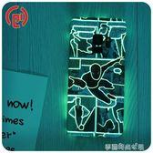 三星S9手機殼S10鋼鐵俠漫威超薄蜘蛛俠plus綠巨人S8 夜光創意硬殼 夢露時尚女裝