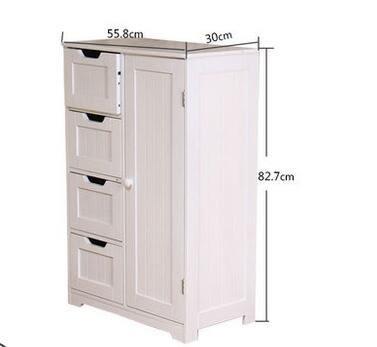 陽台櫃衛生間收納櫃落地防水儲物櫃牆角櫃客廳角櫃多層地櫃