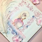 手賬貼紙裝飾特殊油墨櫻花和紙膠帶口紅貼紙【奇趣小屋】
