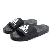 ADIDAS ADILETTE SHOWER 黑白 防水 運動 拖鞋 男女 (布魯克林) F34770
