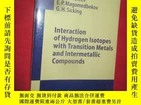 二手書博民逛書店Interaction罕見of Hydrogen Isotope
