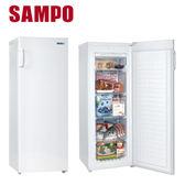 【SAMPO聲寶】170公升直立式冷凍櫃(SRF-170F)*SRF170F下單前先確認是否有貨
