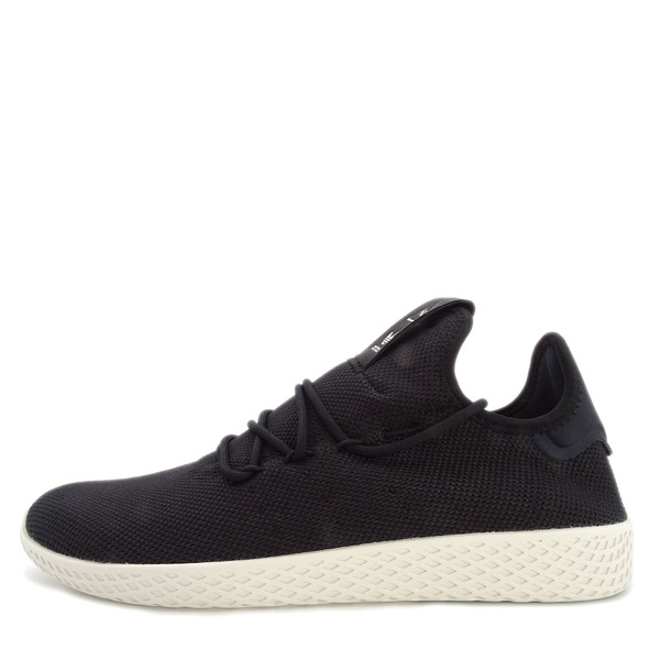 Adidas Originals Pharrell Williams Tennis HU [AQ1056] 男鞋 網球 休閒 黑 白