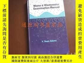 二手書博民逛書店Water罕見Wastewater Examination Ma