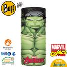 【BUFF 西班牙 青少年超級英雄 經典頭巾 Plus 綠巨人浩克】121594/漫威/圍脖/帽子/口罩/圍巾/吸溼排汗