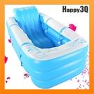 充氣加厚氣墊可收納躺椅泡澡桶雙人情侶鴛鴦...