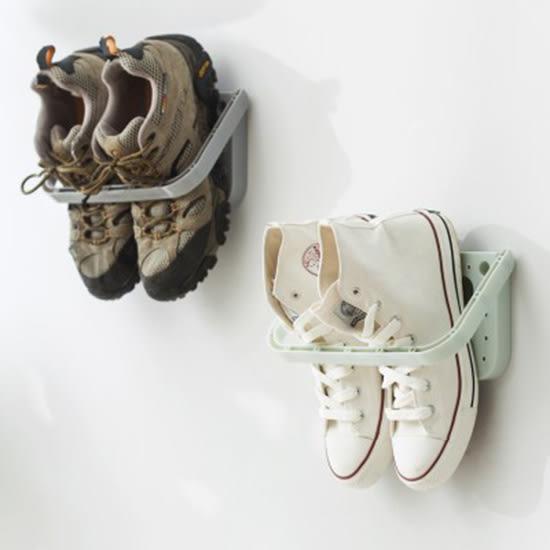 ✭米菈生活館✭【J87】壁掛式黏貼鞋架 創意  掛式鞋架  辦公室 收納乾淨 衛生 置物