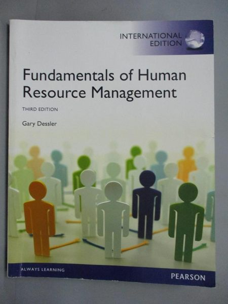 【書寶二手書T1/大學商學_QXR】Fundamentals of Human Resource Management_Gary Dessler