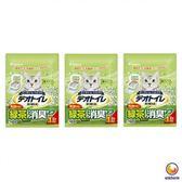 Unicharm 日本消臭大師消臭礦砂肥皂香 5LX3包