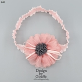 蝴蝶結髮飾韓國嬰兒發帶頭飾女寶寶公主女童蝴蝶結蕾絲花朵可愛新生 嬡孕哺