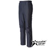 PolarStar 中性抗風休閒保暖長褲『黑藍』P16437 休閒褲│釣魚褲│登山褲│耐磨褲