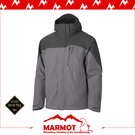 【MARMOT 男 Palisades TR GORE-TEX兩件式外套《煤灰》】30420/保暖外套/羽絨外套/防水/防風