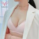【Yurubra】午後的慵懶內衣。B.C罩 無鋼圈 提托 集中 舒適 機能 不壓胸骨 台灣製 ※0645膚
