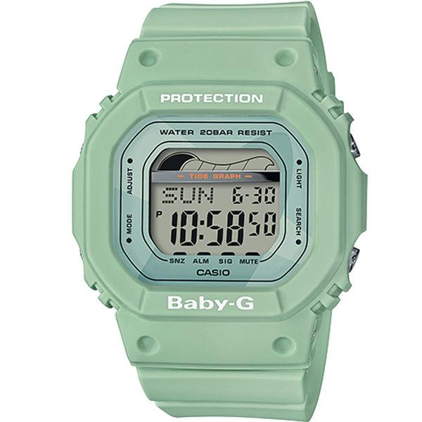 CASIO卡西歐BABY-G夏季衝浪運動腕錶 BLX-560-3 綠