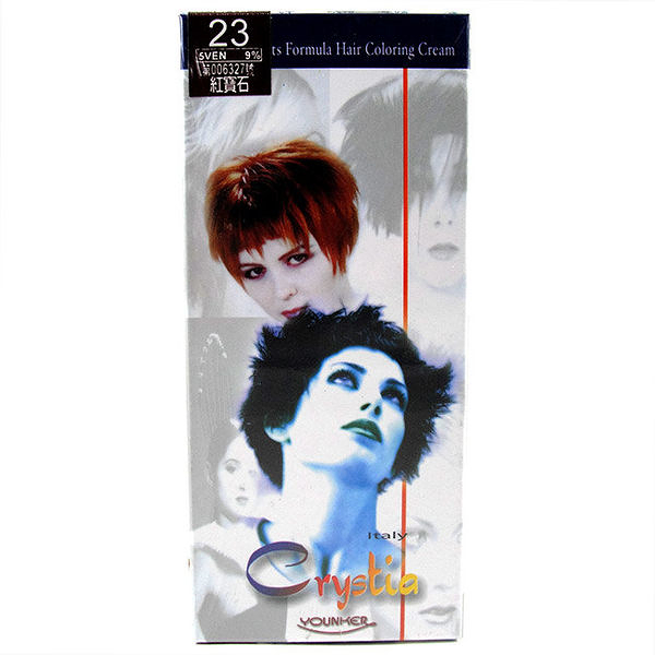【產地義大利】美麗人生 草本護染髮劑 23號-紅寶石色 [65739]
