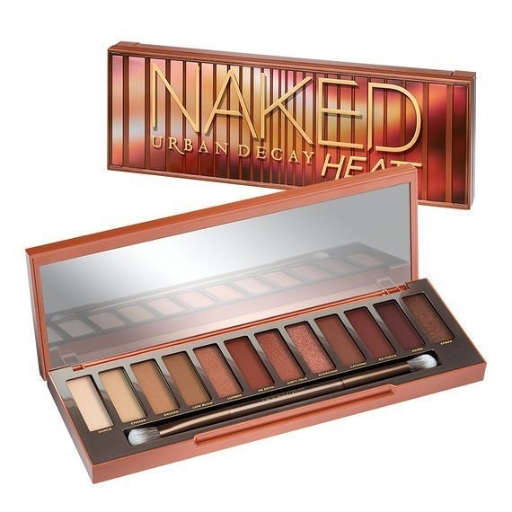美國 Urban Decay NAKED HEAT Eyeshadow Palette 12色 眼影盤