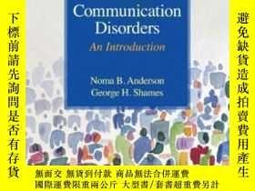 二手書博民逛書店Human罕見Communication Disorders: An Introduction (8th Edit