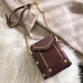手機包2019小包包高級感女包迷你質感手機包鍊條百搭洋氣時尚斜背包 爾碩