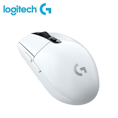 【logitech 羅技】G304 LIGHTSPEED 無線電競滑鼠 白色 【贈束口防塵套】