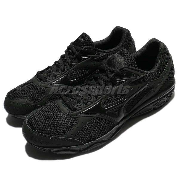 Mizuno 慢跑鞋 Maximizer 20 全黑 基本款 男鞋 運動鞋 【PUMP306】 K1GA180209