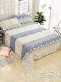100%純棉老粗布床單單件加厚被單全棉亞麻1.2m1.5m/1.8/2.0米 晴川生活館