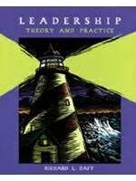 二手書博民逛書店 《Leadership : theory and practice》 R2Y ISBN:0030224179│Daft