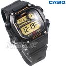 CASIO卡西歐 DW-291H-9A 十年電力 數位 顯示錶 男錶 粗曠 運動風格 DW-291H-9AVDF