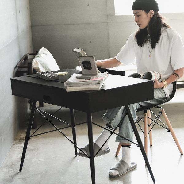 工業風 書桌  抽屜【X0015】泰倫功能收納雙抽上掀書桌 MIT台灣製 完美主義