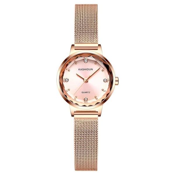 手錶卡詩頓手錶女士手錶石英表防水女學生時尚潮流絲帶女表韓腕表 貝芙莉