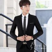 西裝外套  男士西裝修身韓版休閑西服男商務結婚正裝外套學生帥氣潮流小西裝