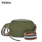 FOSSIL MAISIE 多彩織帶橄欖綠相機包 SHB2642350