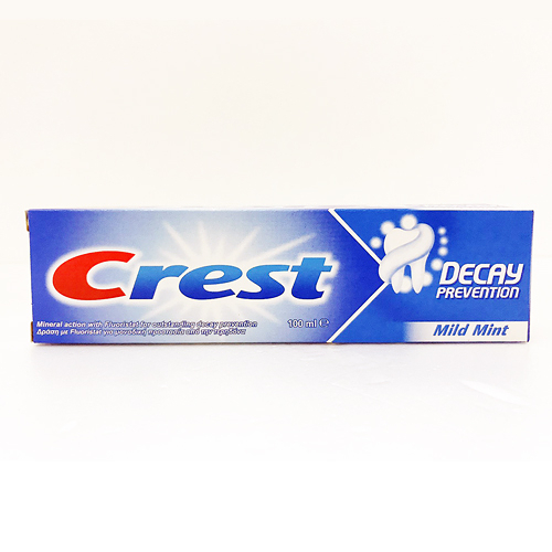 【有影片】CREST DECAY PREVENTION 牙膏 薄荷 100ml
