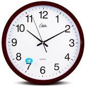 店長推薦客廳掛鐘日歷石英鐘個性靜音鐘掛表時鐘大創意鐘辦公室鐘表 芥末原創