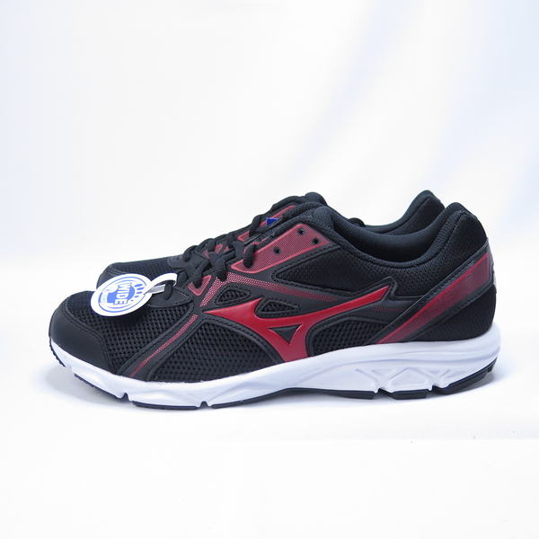 MIZUNO MAXIAIZER22 慢跑鞋 3E寬楦 K1GA200062 男款 黑紅【iSport愛運動】