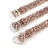 腰鏈皮帶 豹紋 幾何 金屬釦 裝飾 時尚 百搭 針釦 皮帶 腰帶【NR831】 BOBI  02/28